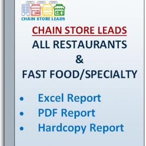 list of chain restaurants